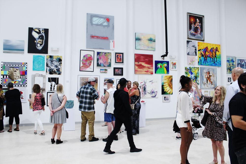 Art Exhibit in Delray Beach