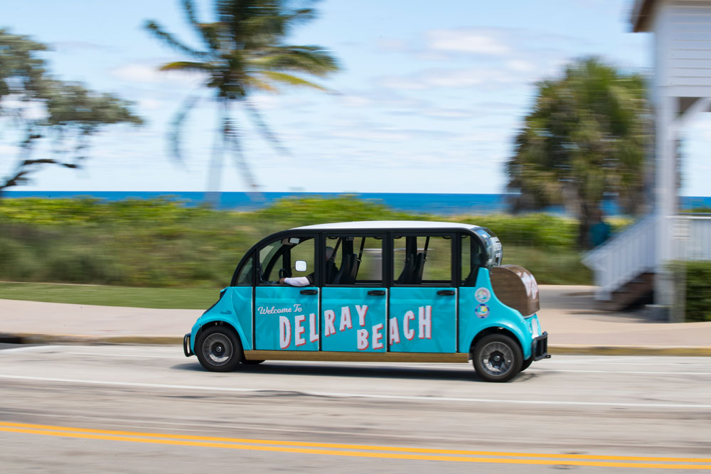 Beach parking in Delray Beach