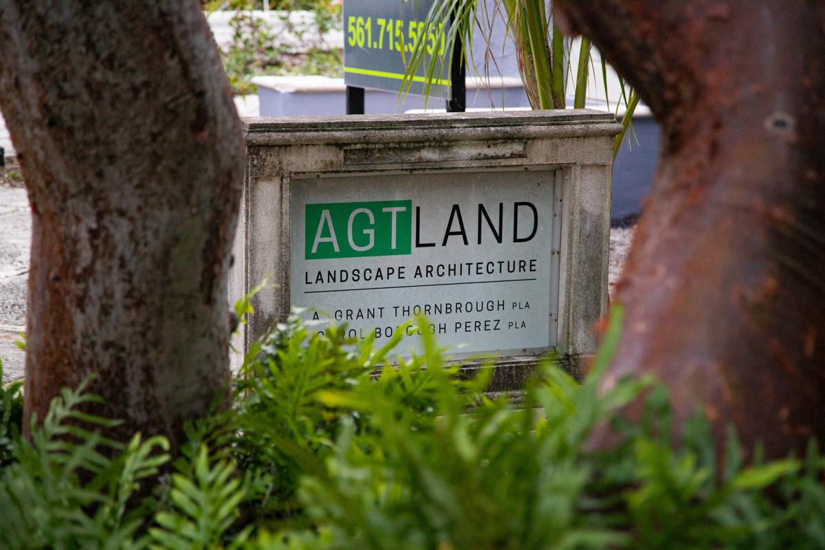 AGT Land Office Sign