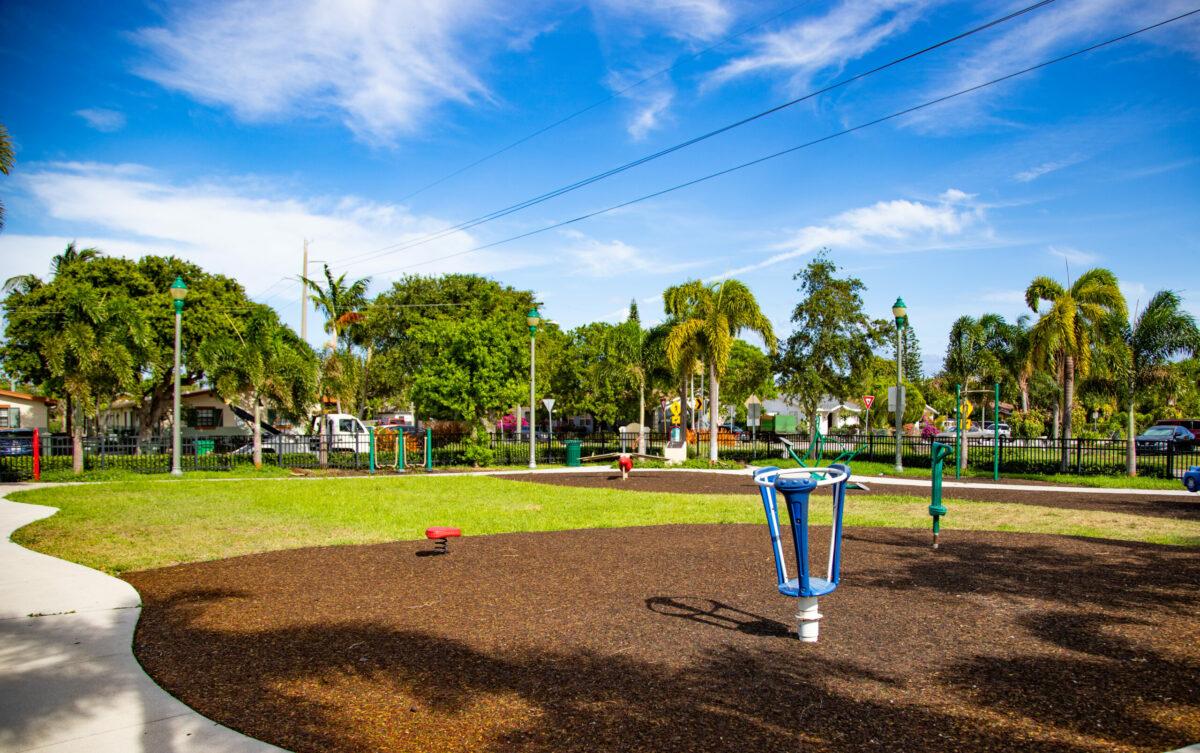 Park Beautification: Reverend J.W.H. Thomas Jr. Park in Delray Beach