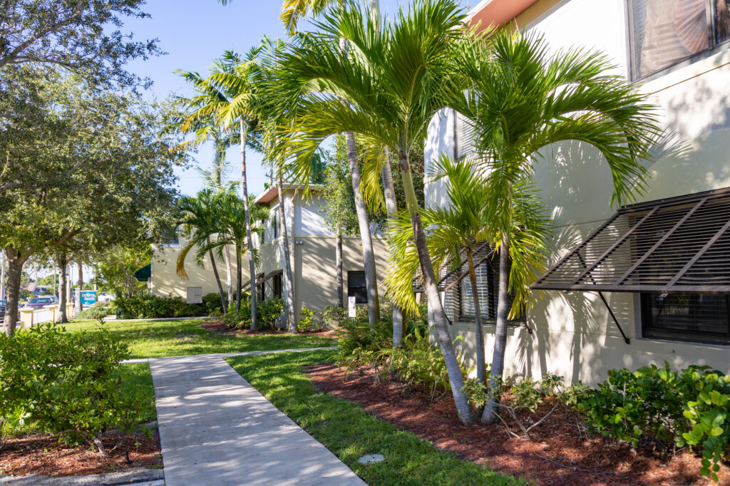 Carolyn Quince Court in Delray Beach